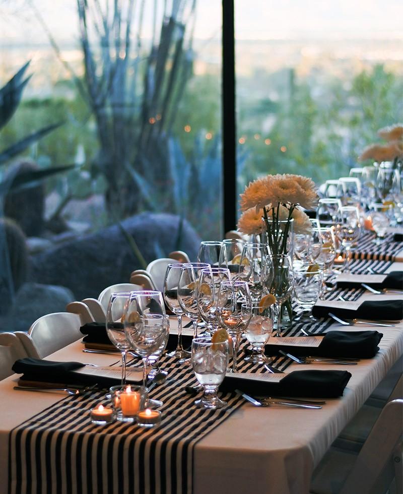 Privato Supper Club Place Setting