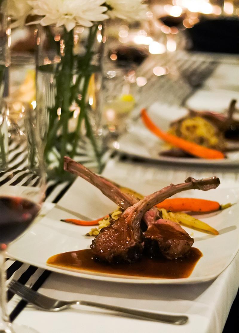 Privato Supper Club Plate