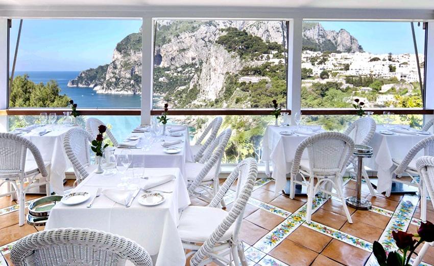 Terrazza Brunella, Hotel Brunella, Capri, Italy