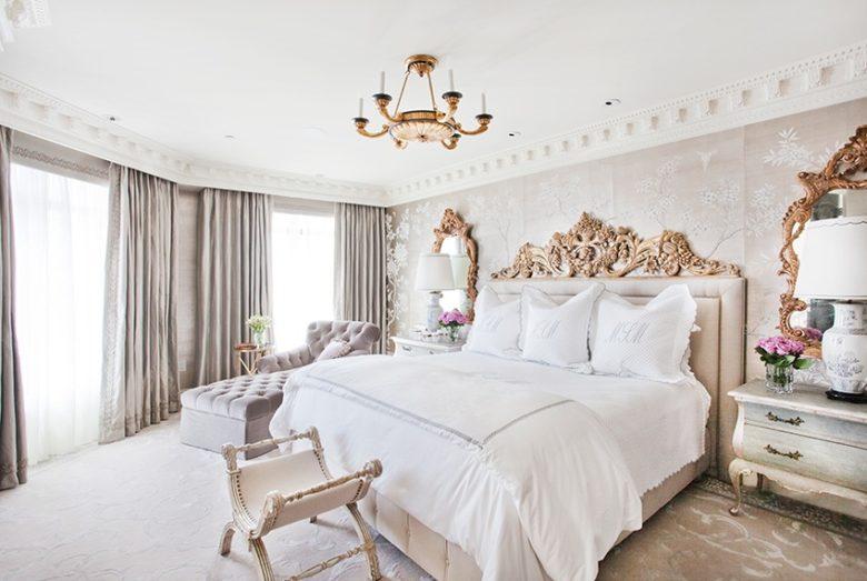 Pied a terre bedroom, By Jamie Herzlinger