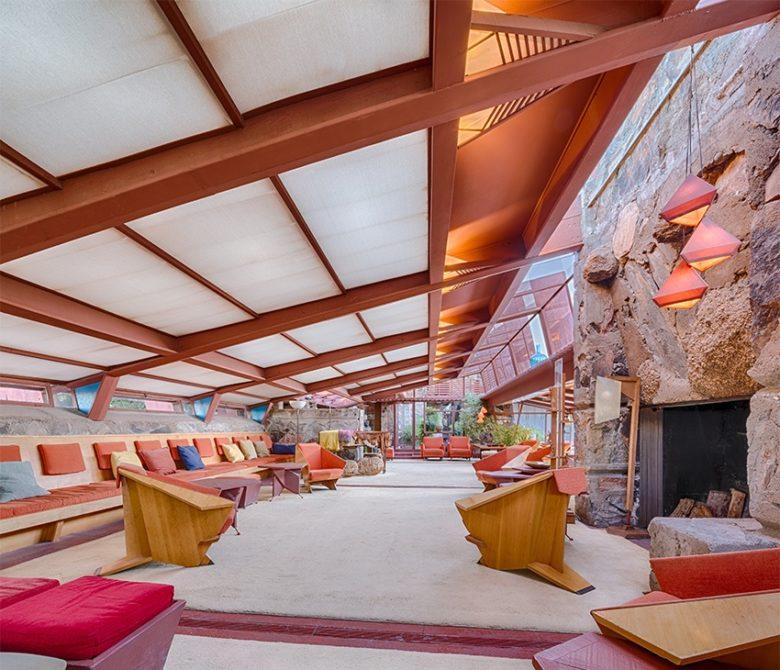 Frank LLoyd Wright's Taliesan West Scottsdale