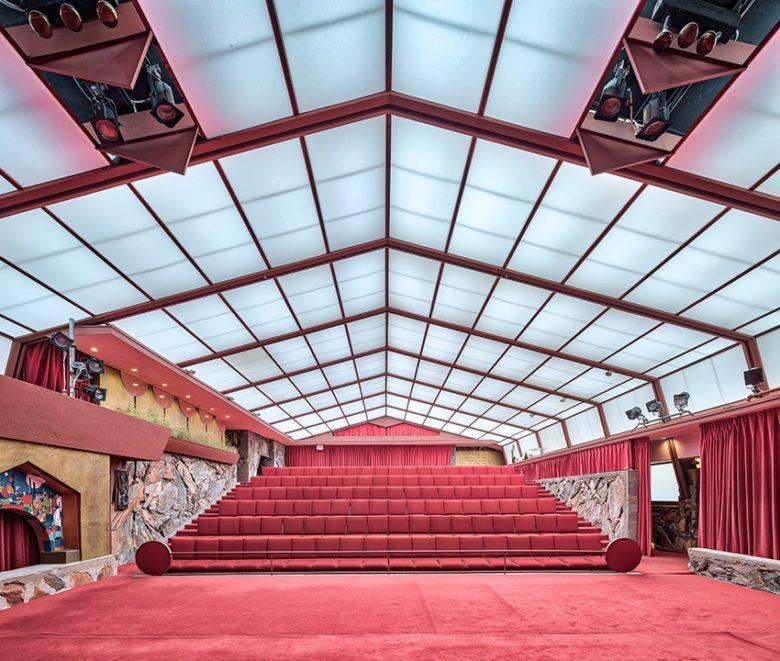Taliesin West Music Pavilion Scottsdale AZ.