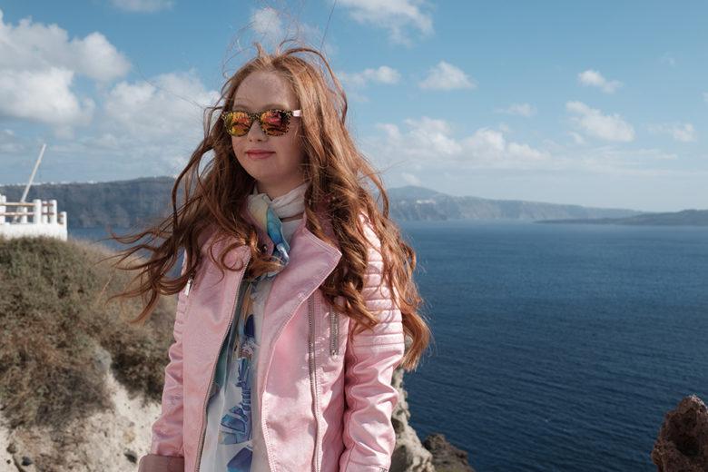 Australian model Madeline Stuart on location