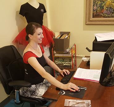 Jennifer Cafarella Ballet Theatre of Phoenix - at work