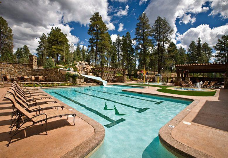 Pine Canyon Pool and Slide