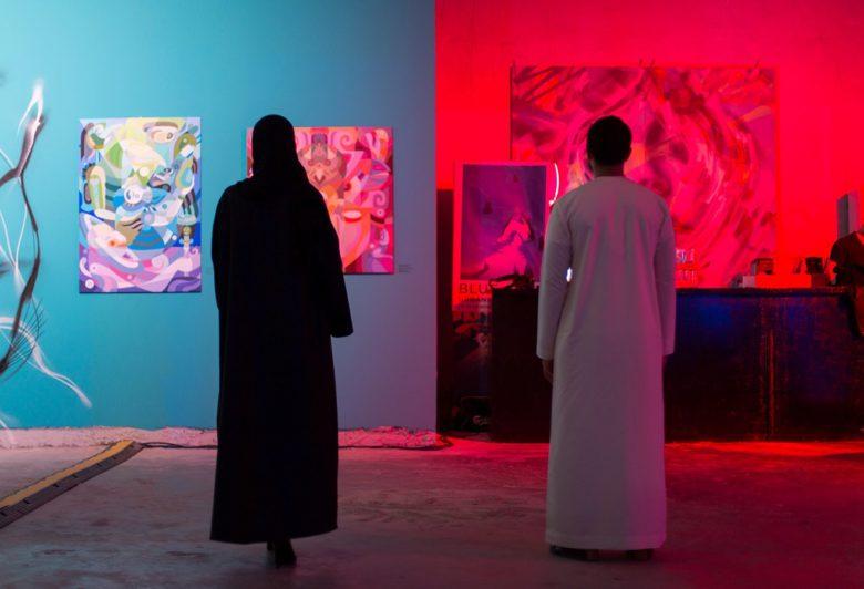 Love Letters - Pop up display Dubai design district