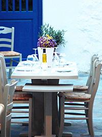 Nautilus Restaurant Mykonos Greece