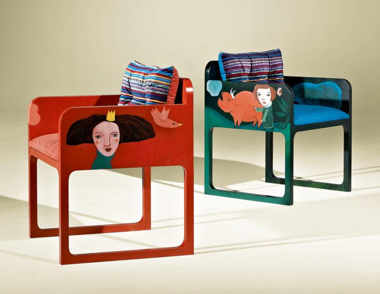 Sonhar Armchairs by Luisa Peixo