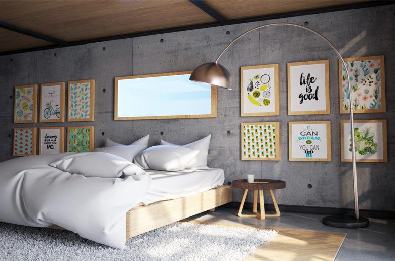 Portuguese interior design Bedroom by Trinta Design