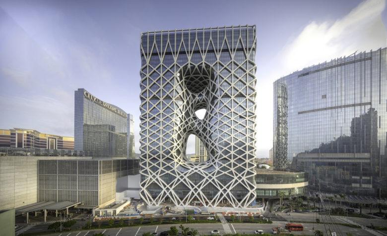 Morpheus Hotel, Macau. Photo by Virgile Simon Bertrand