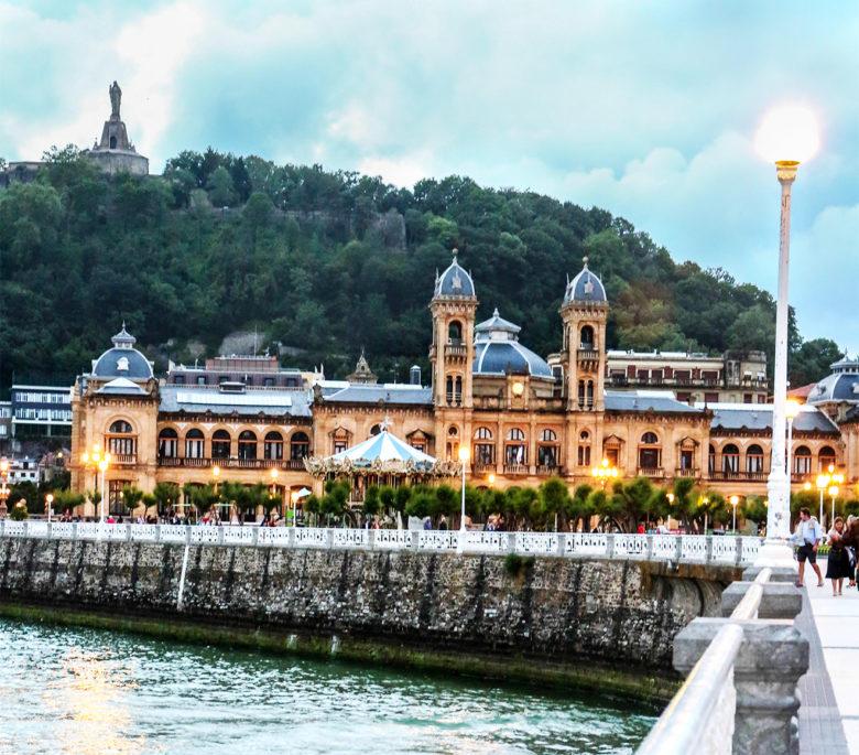 View of San Sebastián Spain