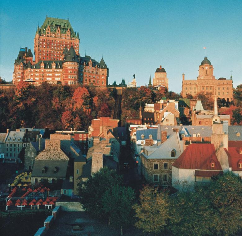 Fairmont Le Chateau Frontenac Quebec Autumn