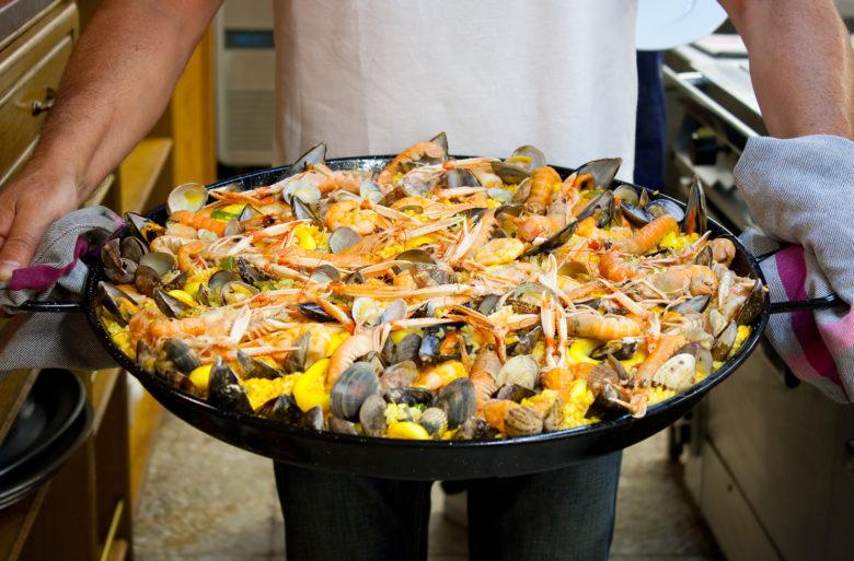 Gastronomic Society San Sebastian - Seafood Paella