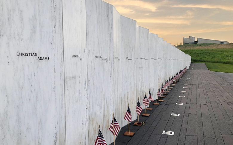 Flight 93 Memorial Name Wall Shanksville