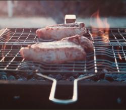 Summer Grilling pork chop