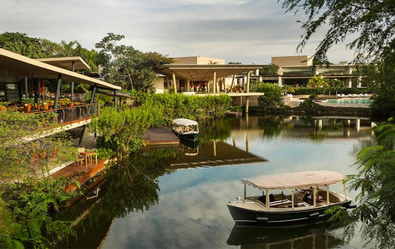 Rosewood Resort lagoon Mexico