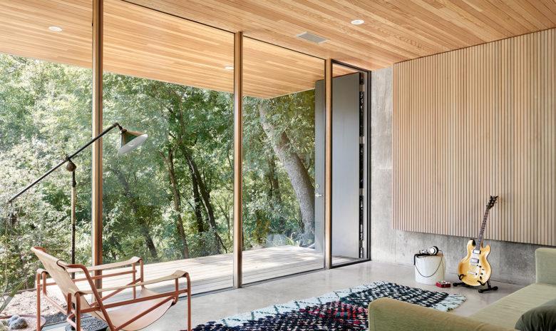 Modern treehouse home in Austin Tx