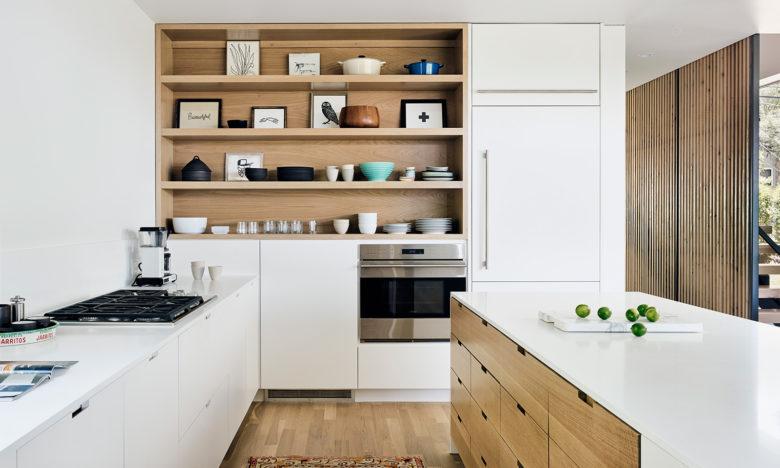 Modern minimal kitchen design
