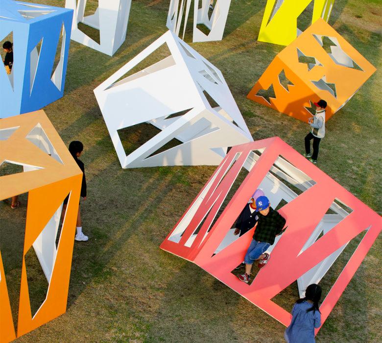 public art stargazing tea rooms Moriyuki Ochiai
