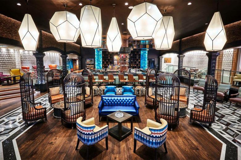 Burn Cigar Bar and Lounge Naples FL - Interior