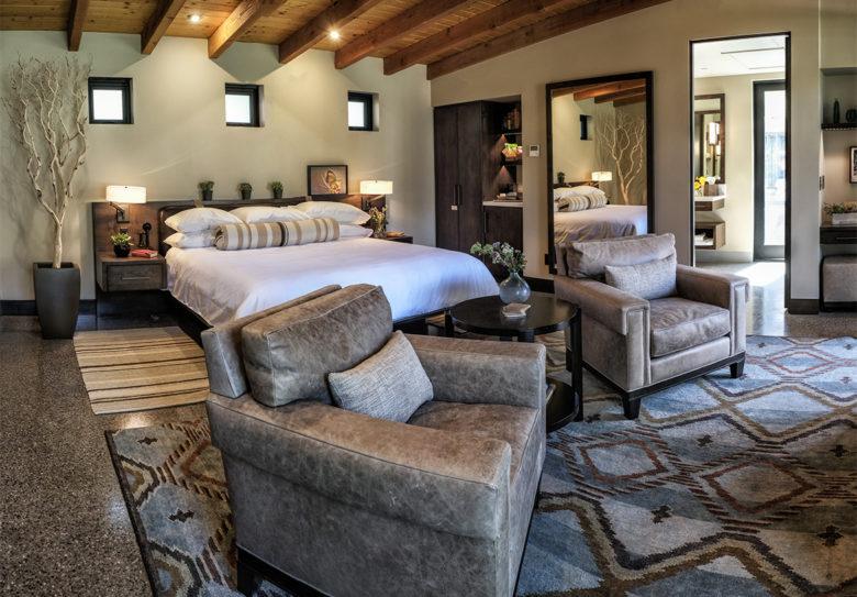 Castle Hot Springs Master Bedroom