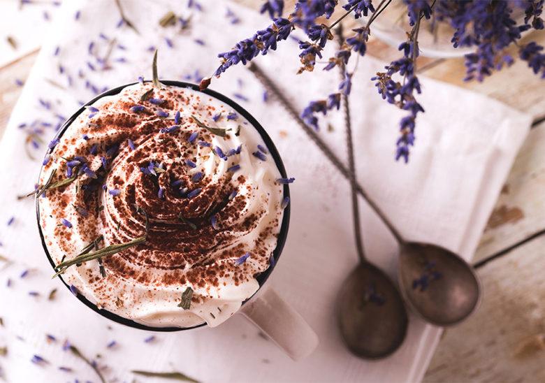 Lavender orange hot chocolate recipe