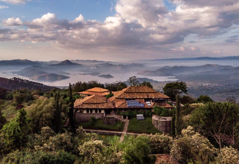 Sinamatella Rwanda Virunga sky view