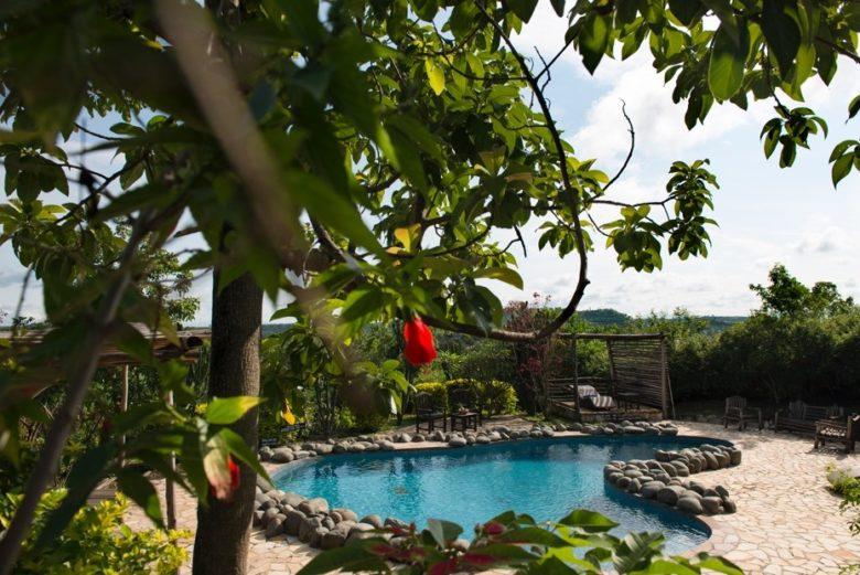 KYAMBURA GORGE LODGE, UGANDA Lodge pool