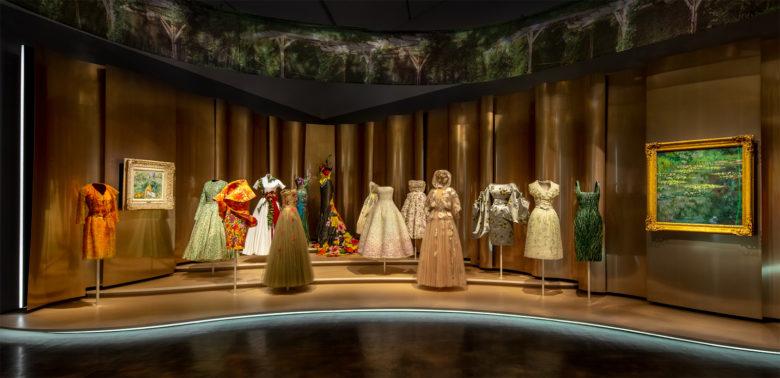 Dior From Paris to the World - Denver Art Museum - Period dresses
