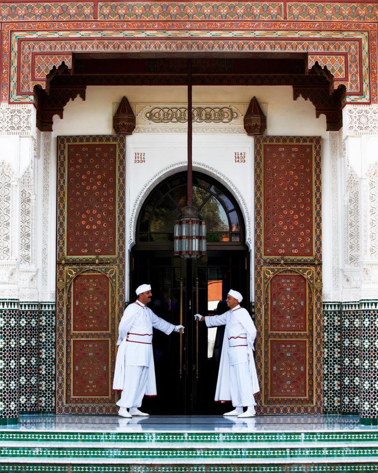 Marrakech - Door men palace jackets and hats
