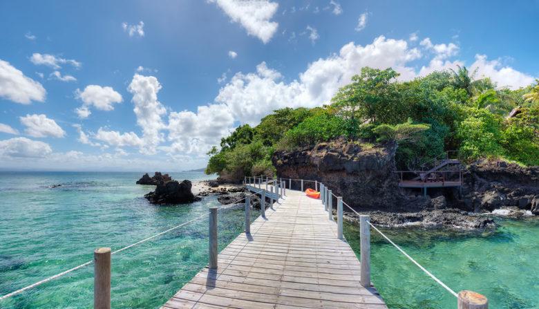 Royal Davui Resort Fiji Beqa Lagoon walkway