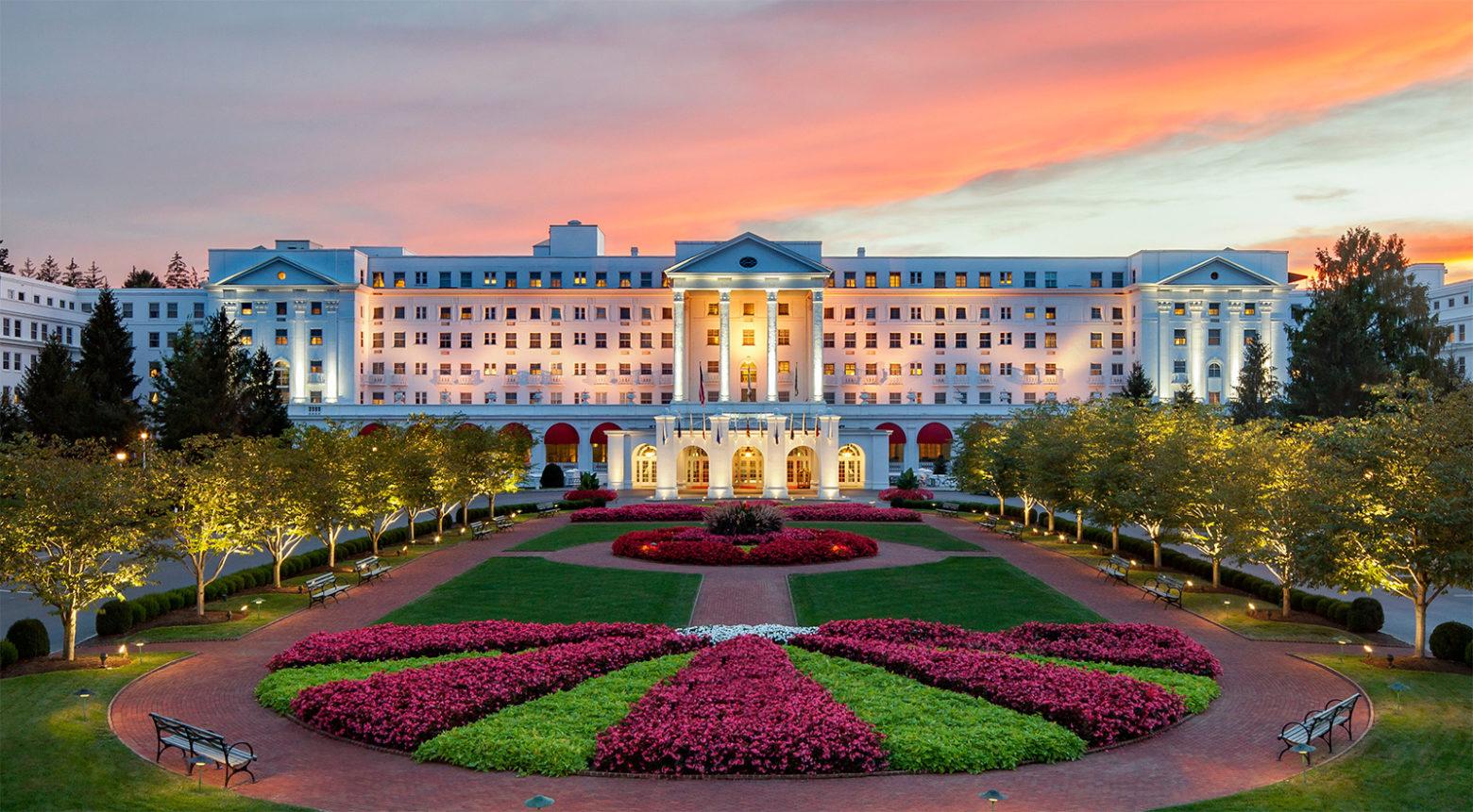 The Greenbrier Resort West Virginia Entrance
