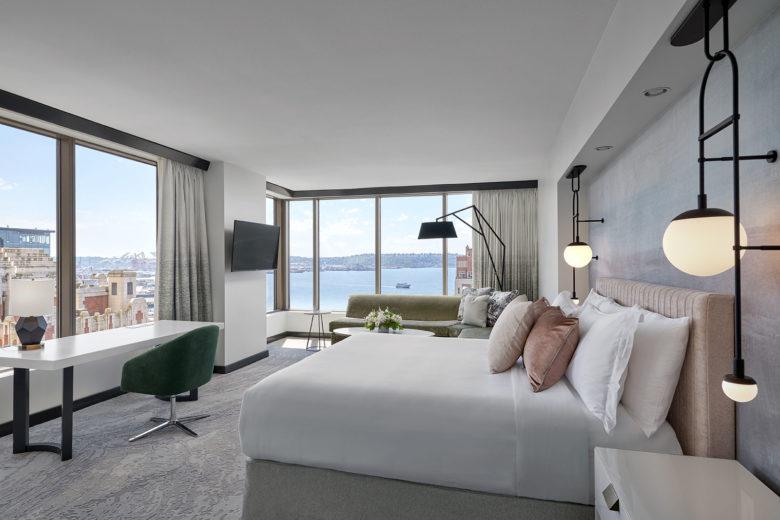 LOEWS 1000 hotel room Seattle