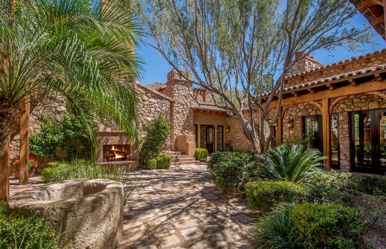 Silverleaf luxury Tuscan villa home Az