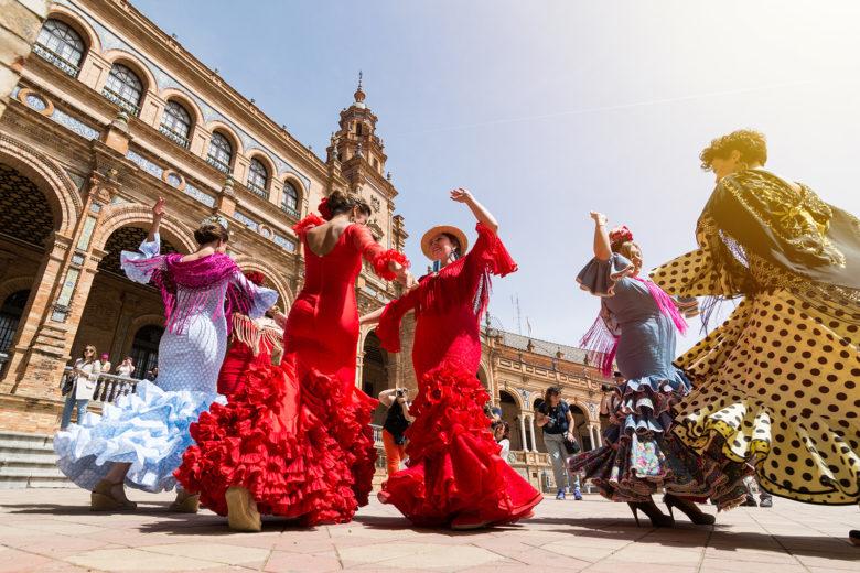 Spanish Dancers - Tablao Los Gallos Flamenco