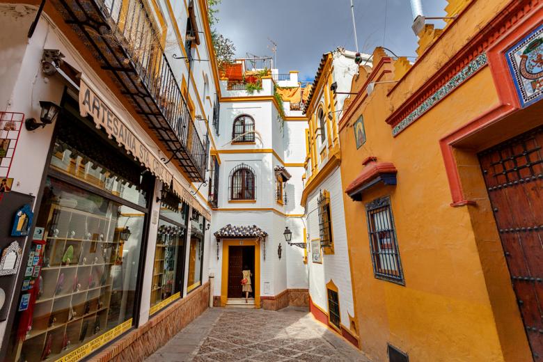 Seville Spain - Santa Cruz Quarter - Little Shops