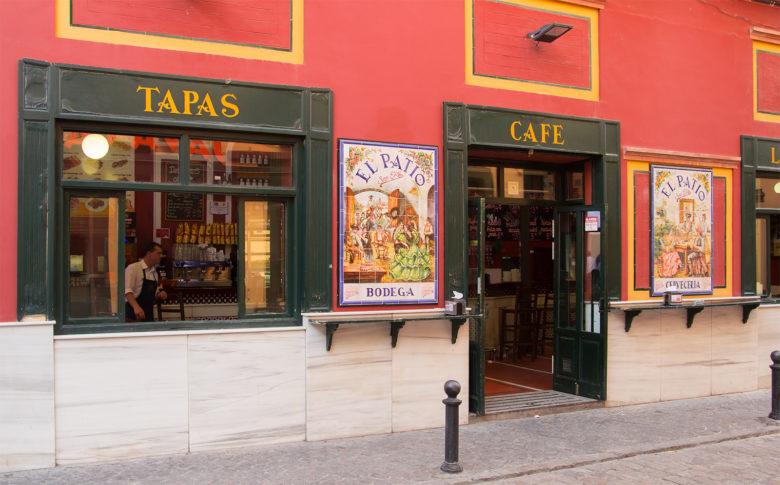 Tapas bars in Seville Spain