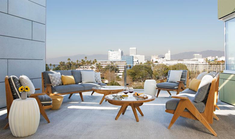 Designer Joan Behnke outdoor living