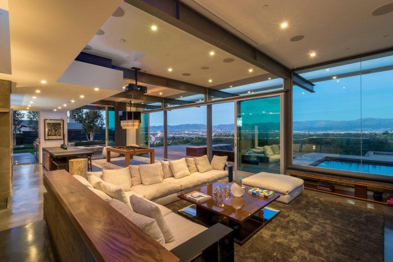 LA architect Christopher Mercier custom home