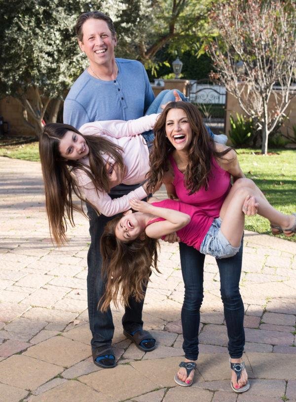 Samantha Harris family