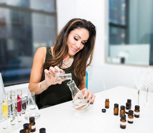 Aroma architect Farah Abassi