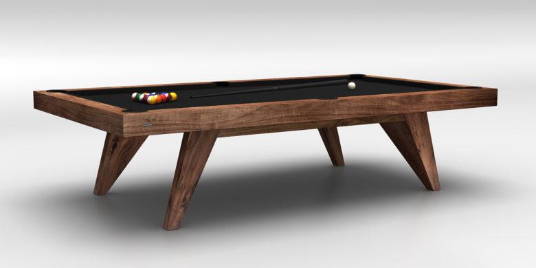 Trigon Walnut Billiards Table