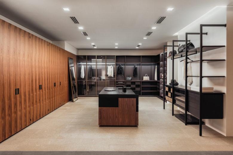 modern walk-in wardrobe design