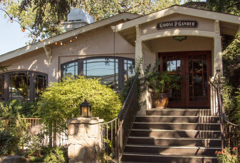 Goose & Gander Restaurant Napa Valley
