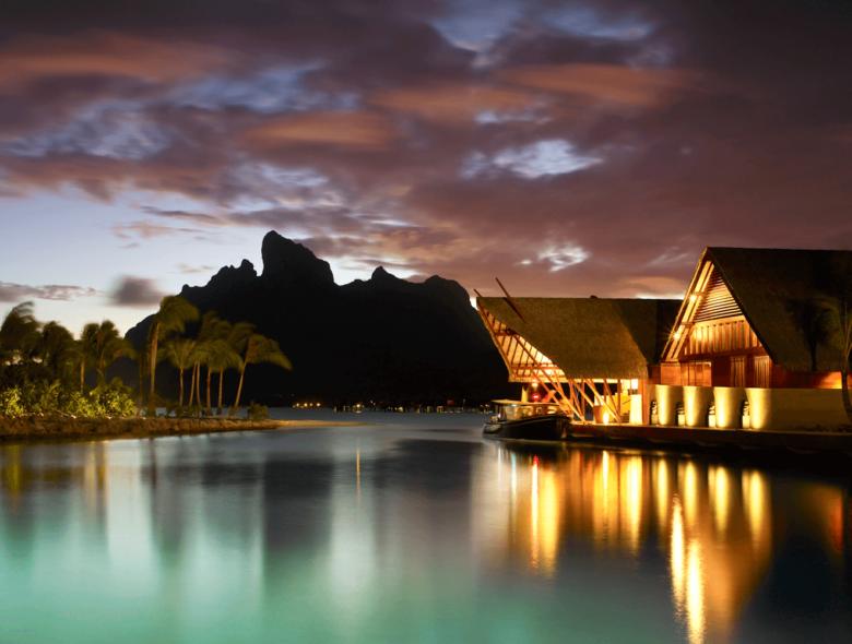 Bora Bora Sunset