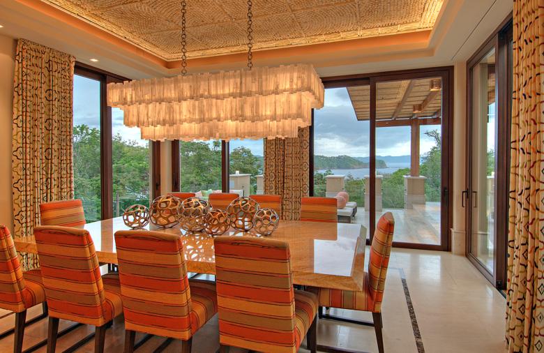 Villa Manzu Dining Room