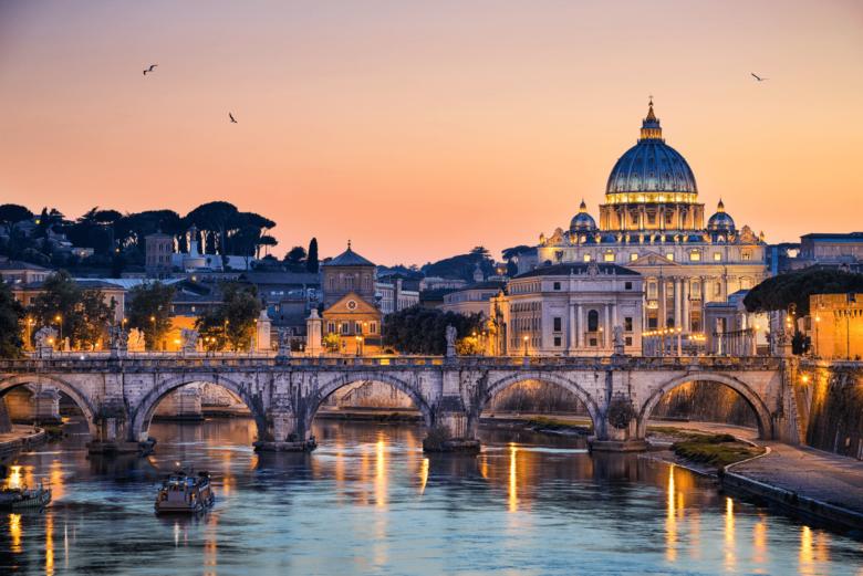 Rome Italy Sunset
