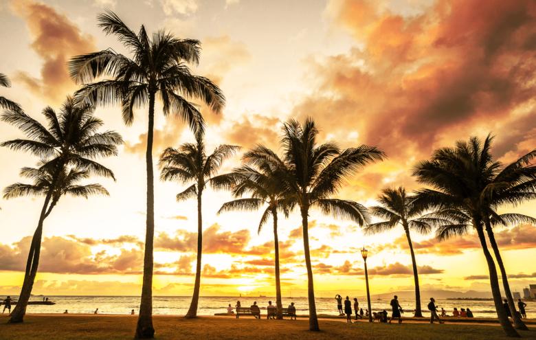 Best Waikiki Beach Sunset