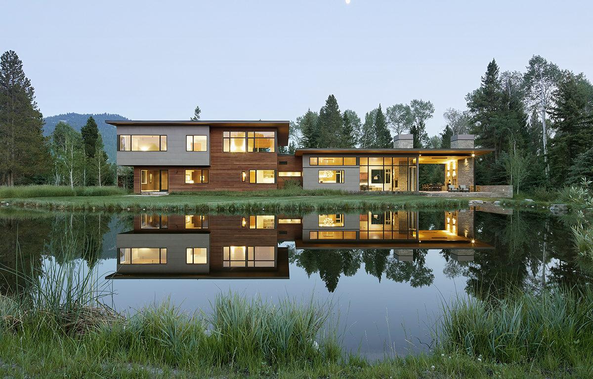Jackson Hole Modern Home Design