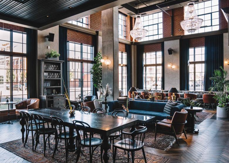 The Ramble Hotel Denver, CO Lounge
